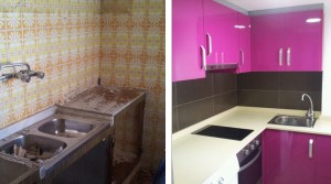 Complete renovation of kitchen