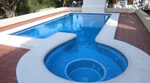 Pool in Denia, Las Marinas